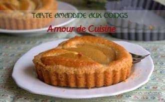 tarte amandine aux coings