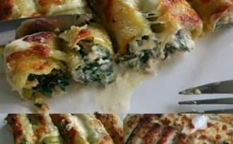 Les cannellonis de Laet's bake it