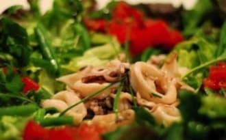 Chipirons en salade