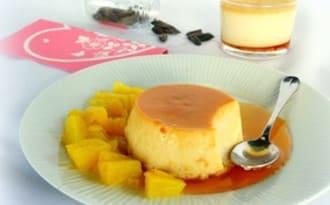 Crème renversée à la fève tonka