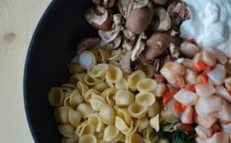 One Pot Pasta Noix de pétoncle
