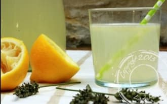 Limonade à la lavande