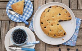 Tarte muffin à la myrtille
