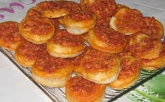 Minis feuilletés au Chorizo