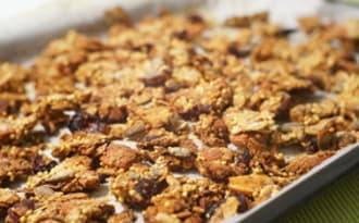 Granola sans gluten aux cranberries