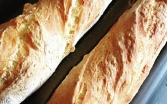 Mes supers baguettes home made