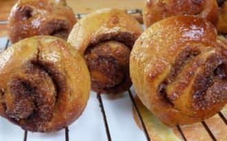 Cinnamon rolls au potiron
