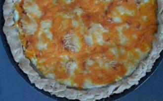 Goyère aux 4 fromages