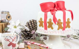 Gâteau de Noël au pain d'épice