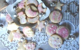 Biscuit de noël en sucre
