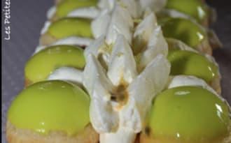 Saint-Honoré ananas et citron vert