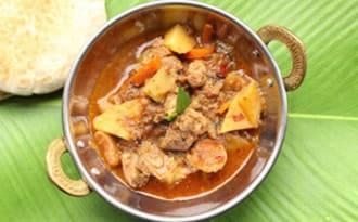 Curry d'agneau 'Bafat'