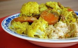 Un curry de chou-fleur