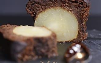 Cake fondant au chocolat et aux poires