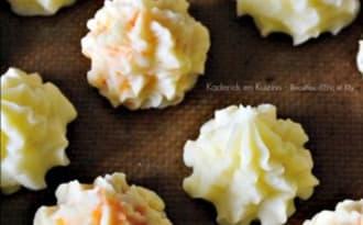 Pommes duchesse natures ou carottes fait maison