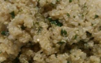 Quinoa aux câpres, persil et citron