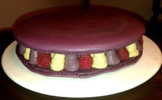 Macaron Mûre Vanille