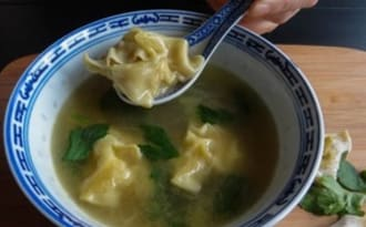 Soupe de wonton