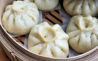 Baozi au porc et chou chinois