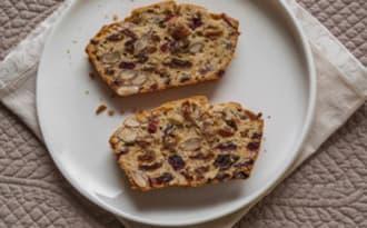 Gâteau du matin aux fruits secs