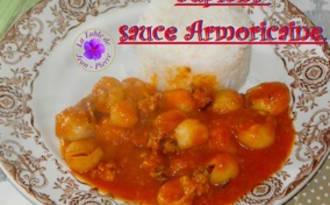 Supions sauce à l'armoricaine