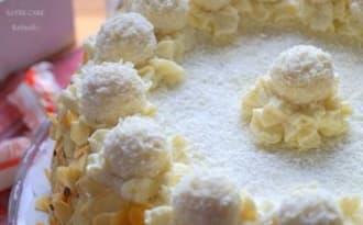 Layer cake au Raffaello®