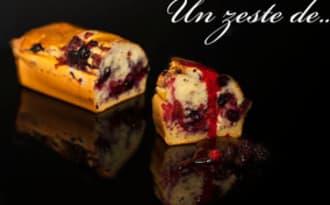 cake aux fruits rouges léger