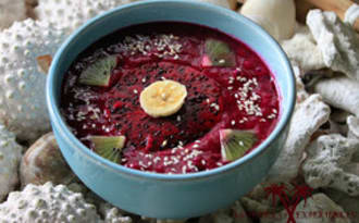 Smoothie Bowl Pitaya rouge