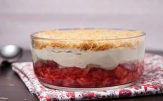 Dessert express à la fraise et à la réglisse