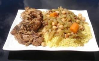 Couscous kabyle aux cardes de Sandrine