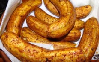 Banane verte frite à la mahoraise