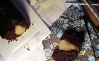Cake surprise poire et chocolat