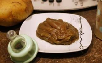 Purée aubergine pommes de terre au thermomix