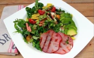 Salade de pâtes colorées à l'italienne