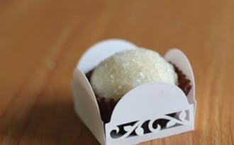 Brigadeiro au dulce de leche, noix de coco