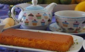 Gâteau de poires vegan, sans gluten