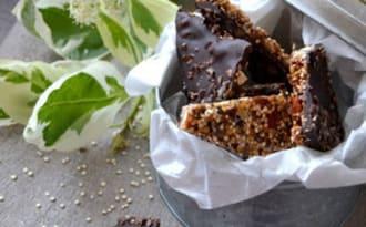 Ecorces de chocolat aux super aliments