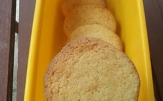 Biscuits saveur mojito