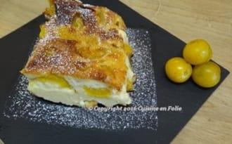 Clafoutis aux mirabelles du Gers et à l'Armagnac