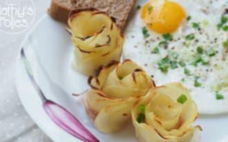 Comme un bouquet de roses...de pommes de terre