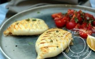 Calamars grillés à l'italienne
