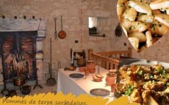 Omelette aux pommes de terre sarladaises