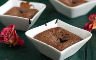 Fondant individuel au chocolat rapide