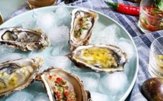 Trois vinaigrettes originales pour accompagner les huîtres