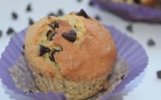 Muffins au lait ribot et aux pépites de chocolat