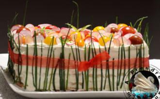 Sandwich cake nordique