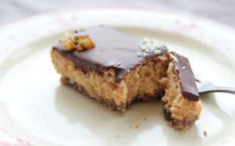 Entremet mousseux cynorhodon chocolat
