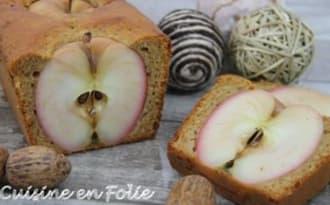 Pain d'épice aux trois pommes
