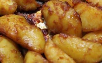 Pommes de terre caramélisées