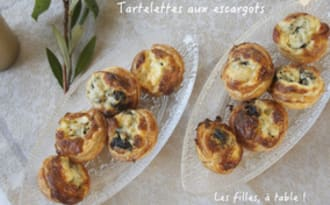 Mini tartelettes aux escargots